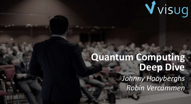 Q# and Quantum Computing with Johnny Hooyberghs