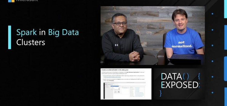 Spark in Big Data Clusters