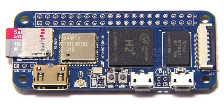 Banana Pi M2 Zero: Low-Cost, Quad Core SBC