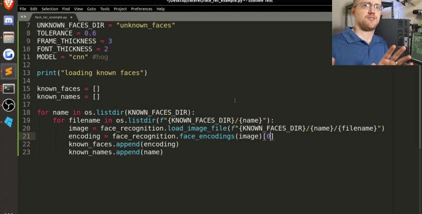 Facial Recognition with Python