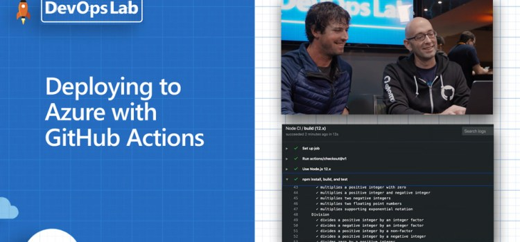 Deploying to Azure with GitHub Actions