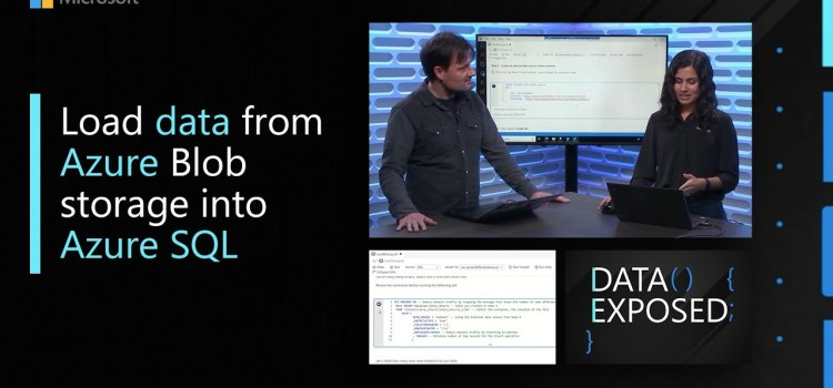 Load data from Azure Blob storage into Azure SQL