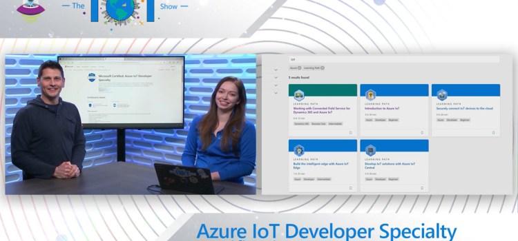 Azure IoT Developer Specialty Certification