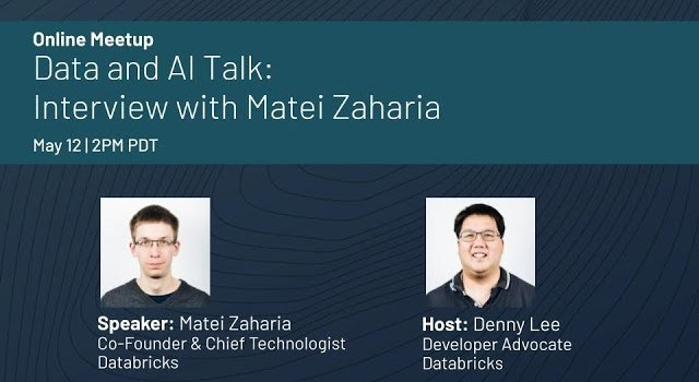 Data and AI Talk with Databricks Co-Founder, Matei Zaharia