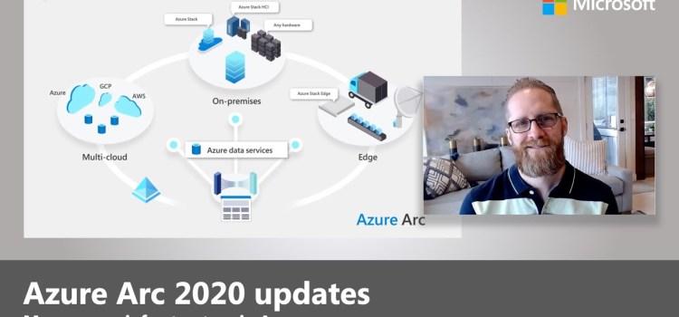 Azure Arc: Azure services anywhere