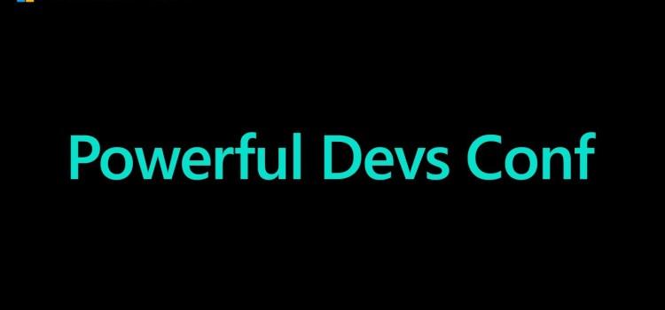 POWERful DEVs Conf Livestream