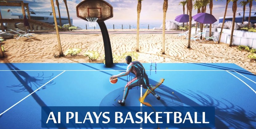 AI-Driven Basketball Players Dribble Like Mad