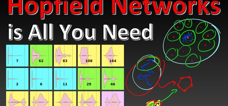 Explaining the Paper: Hopfield Networks is All You Need