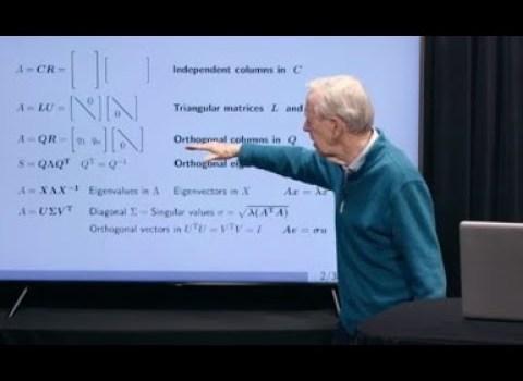 A New Way to Start Linear Algebra