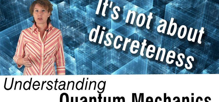 Explaining One of the Most Common Misunderstandings About Quantum Mechanics