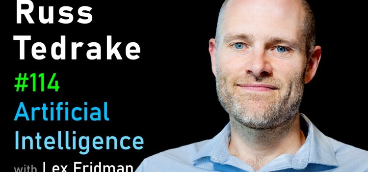 Russ Tedrake on Underactuated Robotics, Control, Dynamics and Touch