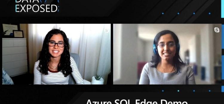 Azure SQL Edge: Demo, Renewable Energy