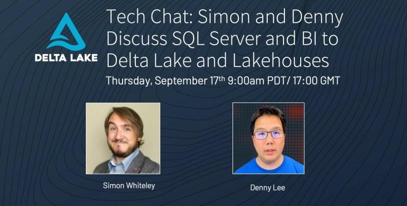 SQL Server and BI to Delta Lake and Lakehouses