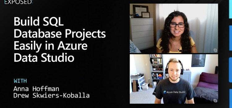 Build SQL Database Projects Easily in Azure Data Studio