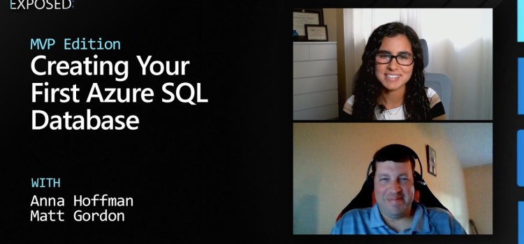 How to Create Your First Azure SQL Database