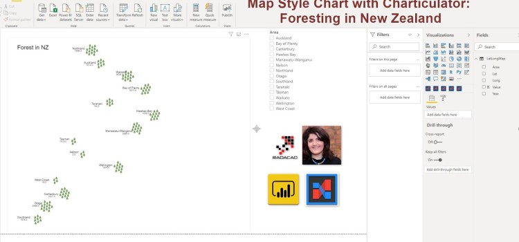 How to Create Map Style Nested Chart in PowerBI