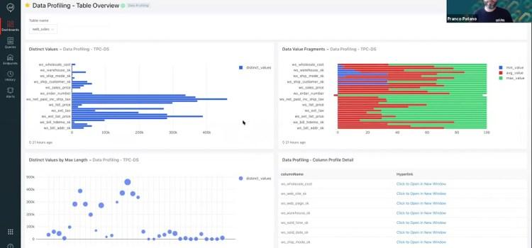 Delta Lakehouse Data Profiler and SQL Analytics Demo