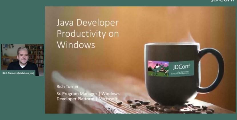 Java Developer Productivity on Windows