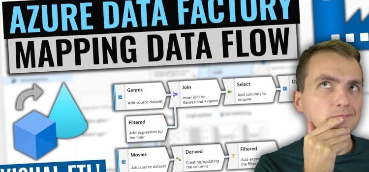 Azure Data Factory Mapping Data Flows Tutorial
