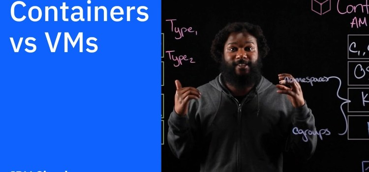What's the difference between Containers vs VMs?