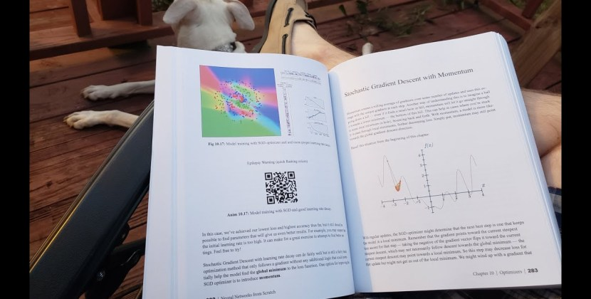 Neural Networks from Scratch Now in Print