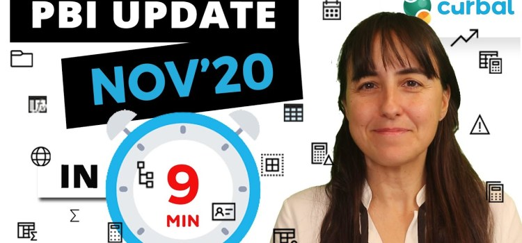 Power BI Desktop Update November 2020 Explained in 9 minutes