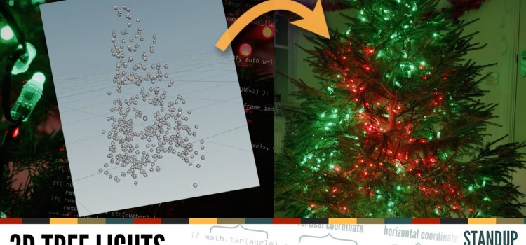 Next Level Christmas Tree Lights with a Raspberry Pi Zero