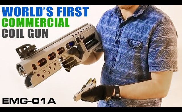 World's First Commercial 3D Printed Coilgun