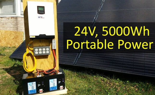How to Build a 5kWh DIY Portable Power Cart Hand Truck