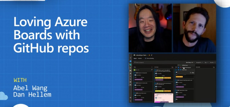 Azure Boards with GitHub repos