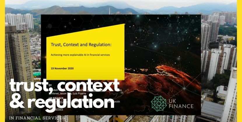 Trust, Context and, Regulation: Achieving Explainable AI in Financial Services