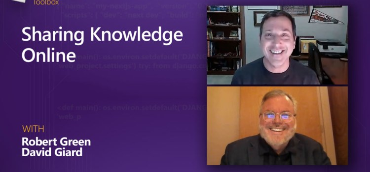 Sharing Knowledge Online