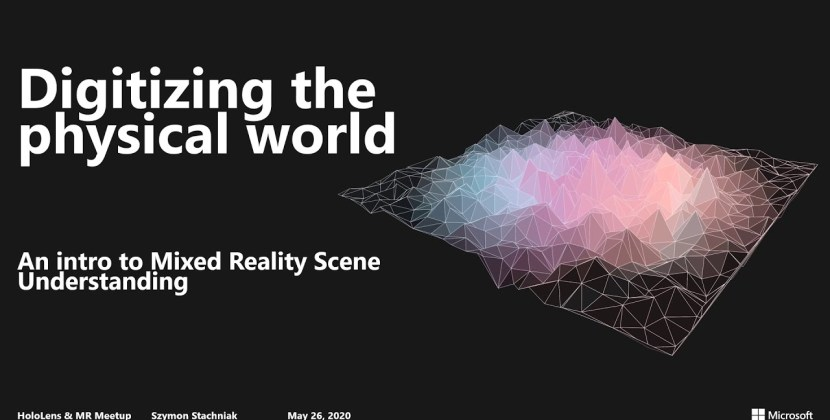 Digitizing the Physical World: Introducing Mixed Reality Scene Understanding
