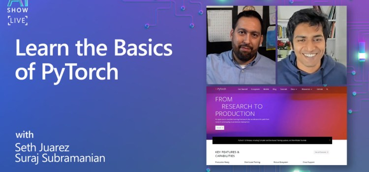 Learn the Basics of PyTorch