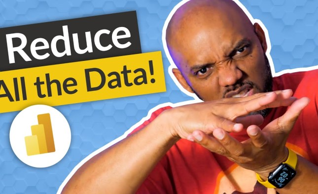3 ways to Reduce Data In Power BI Desktop