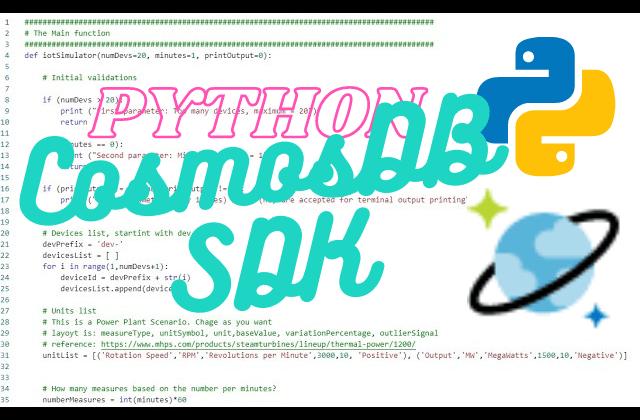 Introduction to Azure Cosmos DB Python SDK