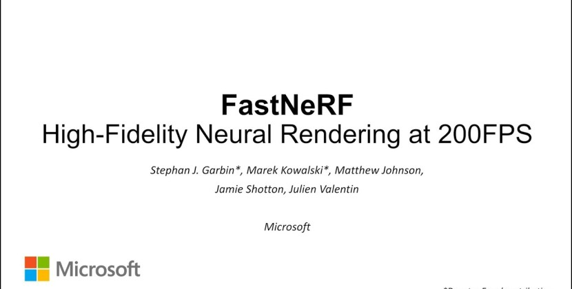 FastNeRF: High-Fidelity Neural Rendering at 200FPS