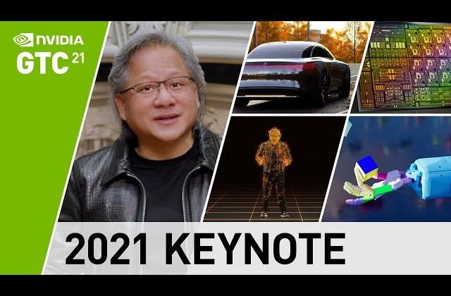 GTC 2021 Keynote with NVIDIA CEO Jensen Huang