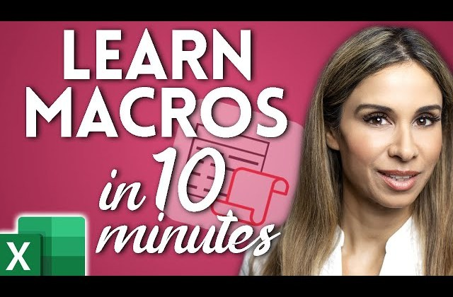 How to Create & Use Excel Macros