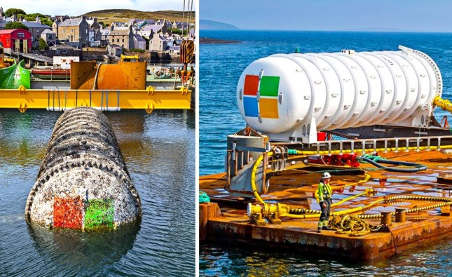 Why Microsoft Has Underwater Data Centers