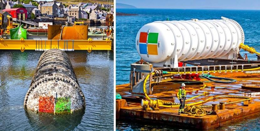 Why Microsoft Has Underwater Data Centers