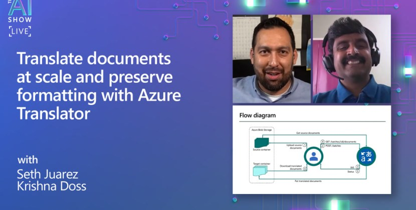 Translating Documents at Scale with Azure Translator