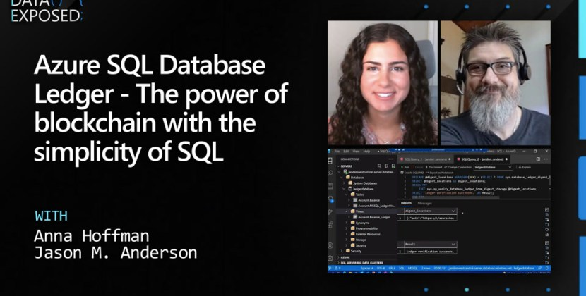 Azure SQL Database Ledger the Power of Blockchain with the Simplicity of SQL