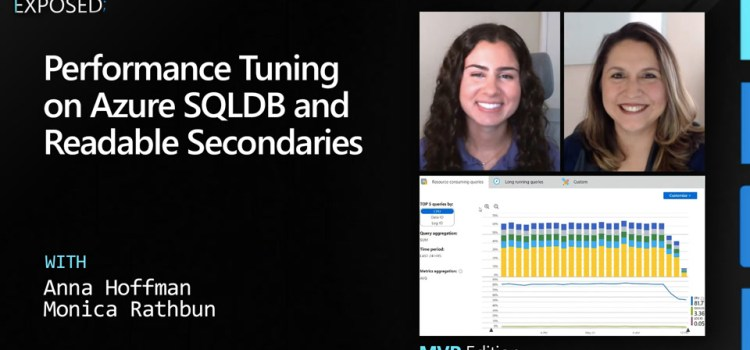 Performance Tuning on Azure SQLDB and Readable Secondaries