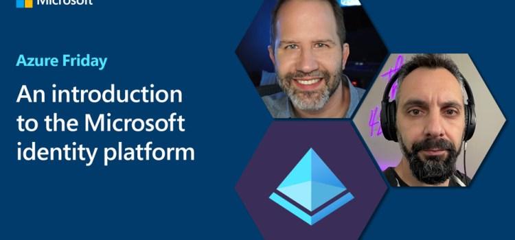 Introduction to the Microsoft identity platform