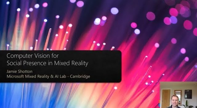 Computer Vision for Social Presence in Mixed Reality |