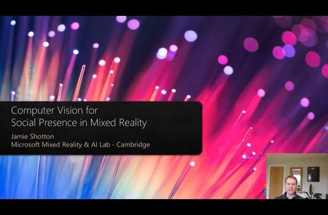 Computer Vision for Social Presence in Mixed Reality  