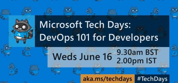 DevOps 101 for Developers