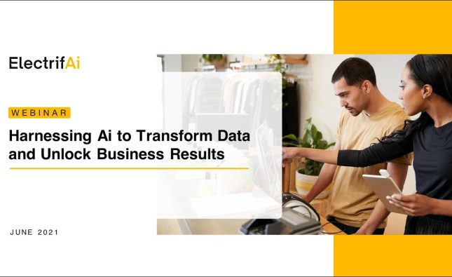 Harnessing Ai to Transform Data and Unlock Business Results