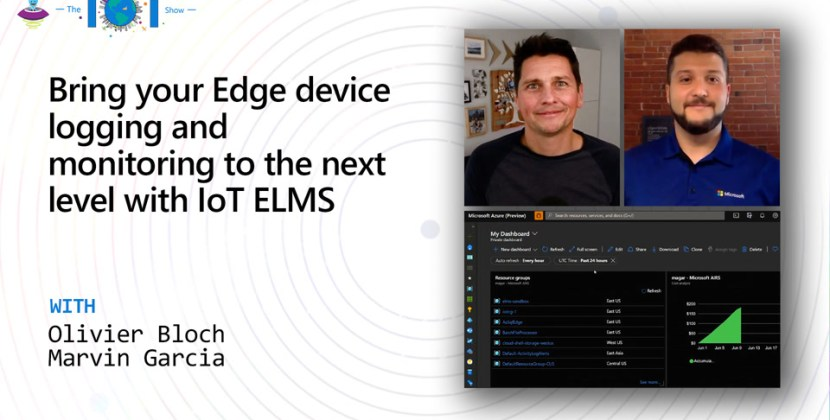 Edge Device Logging and Monitoring with IoT ELMS
